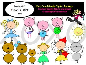 Fairy Tale Friends Clipart