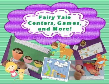 Fairy Tale Fun With Little Red Hen, Goldilocks, and Jack a