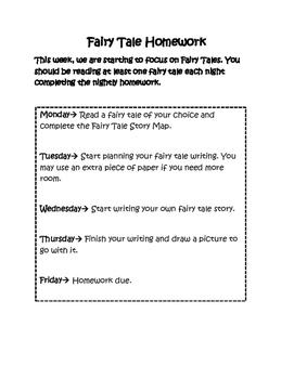 Fairy Tale Homework