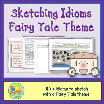 Idioms Word Work - Fairy Tale
