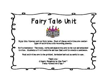 Fairy Tale Literacy Unit