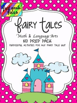 Fairy Tale NO PREP pack