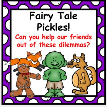 Fairy Tale  PICKLES! [Set of 10}
