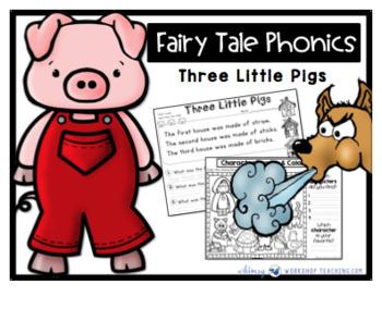 Fairy Tale Phonics - Three Little Pigs - Whimsy Workshop Teaching