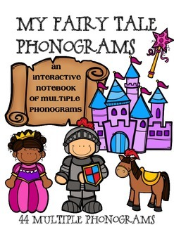 Fairy Tale Phonograms - Interactive Notebook