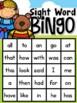Fairy Tale Sight Word Bingo