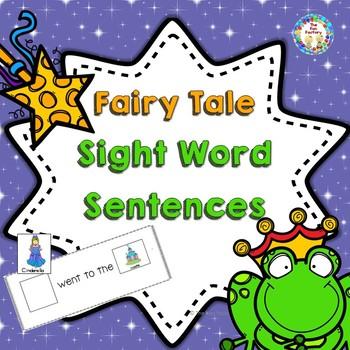 Fairy Tale Sight Word Sentences