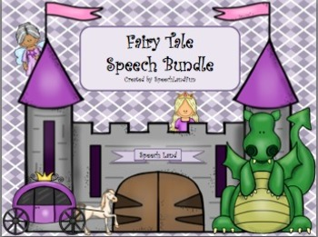 Fairy Tale Speech Bundle