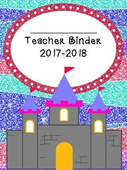 Fairy Tale Themed Teacher Binder