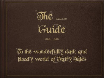 Fairy Tale Unit Introduction for High School Students (In