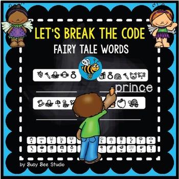 "ESL Game ""Break the Code"": Fairy Tale Words"