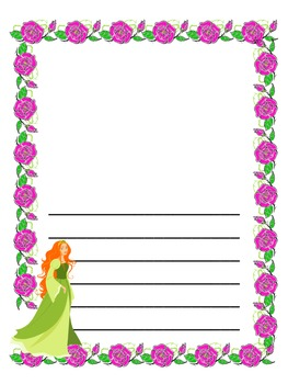 Fairy Tale Writing Paper - 10 different styles