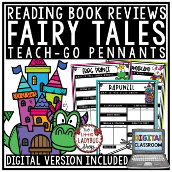 Fairy Tale Activity Posters & Fairy Tale Unit