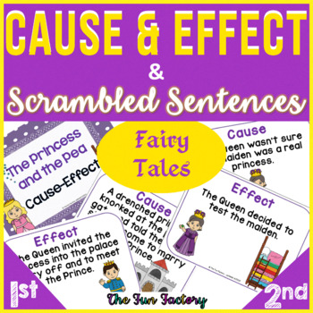 Cause & Effect and Scrambled Sentences, 1st-3rd Grades, Fa