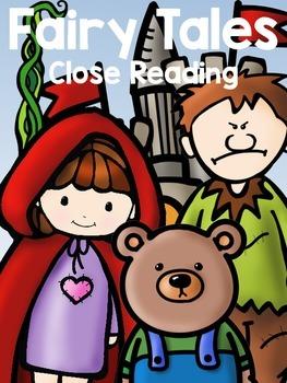 Fairy Tales:Close Reading & Organizers {Jack, Goldilocks,