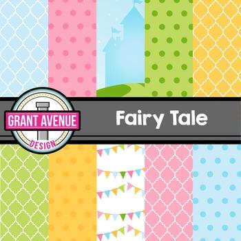 Fairy Tales Digital Papers