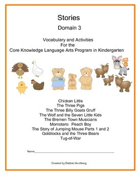 Fairy Tales-- Engage NY-- Common Core-- Kindergarten-- Dom