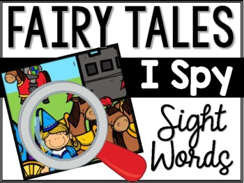 Fairy Tales I Spy Sight Words