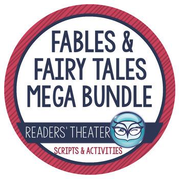 Fairy Tales Meet Aesop:  Readers' Theater Mega Bundle