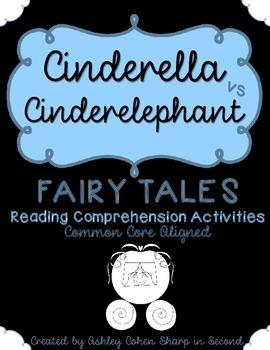 Fairy Tales Reading Comprehension Activities {Cinderella v