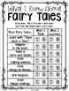 Fairy Tales Response Journal