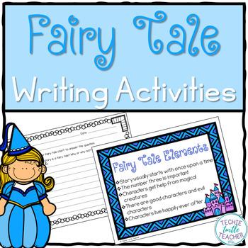 Fairy Tales Unit - Vocabulary, Elements, Characteristics,