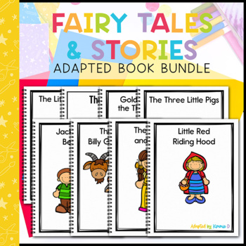 Fairy Tales and Stories Adapted Book Bundle: 5 Adapted Books
