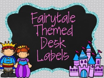 Fairytale Desk Labels