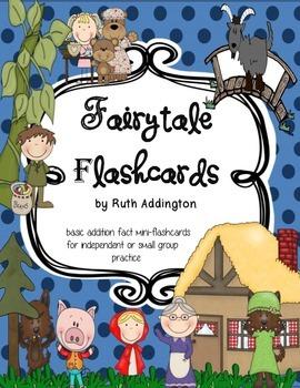 Fairytale Flashcards - mini flashcards for small group or