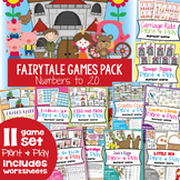 Fairytale Math Center Games Packet - Numbers to 20