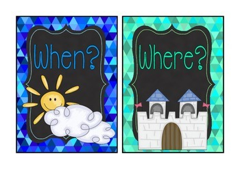 Fairytale Theme 5W signs
