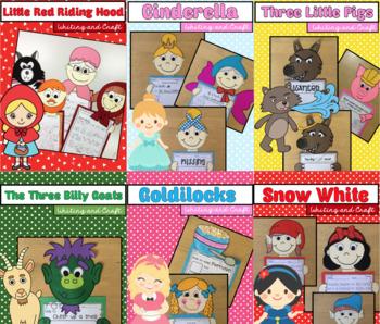 Fairytale Writing and Craftivity MEGA Pack