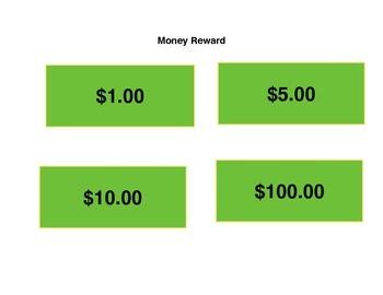 Fake Money Rewards for Students Fun!!!!!