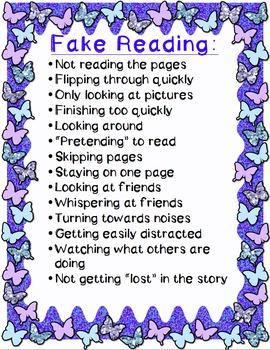 Fake Reading Poster