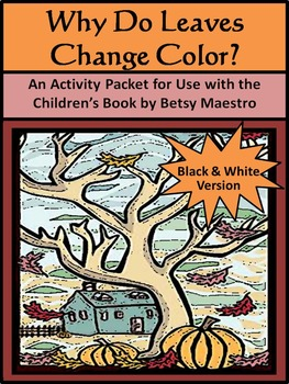 Fall Reading Activities: Why Do Leaves Change Color in the