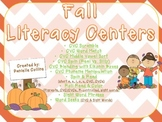 Fall 1st grade Literacy Centers (CCSS- 10+ Centers)