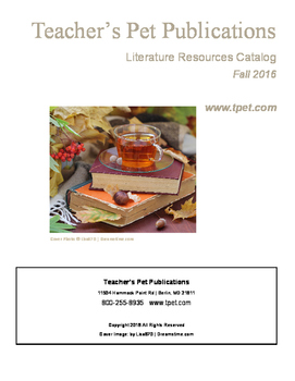 Fall 2016 Literature Resources Catalog
