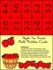 Fall Activities: Fall Ten Frames: Apple Ten Frames