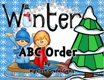 Winter ABC Order