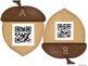 Fall Acorn QR Code Hunt