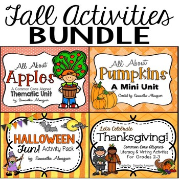Fall Activities ~ Literacy & Science Fun! {THE BUNDLE}