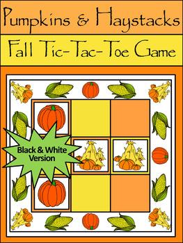 Fall Activities:Pumpkins & Haystacks Fall-Thanksgiving Tic