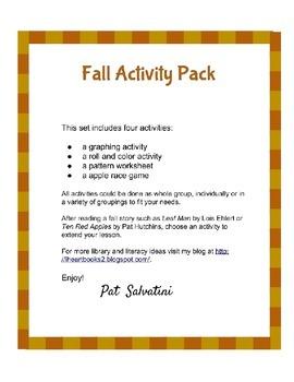 Fall Activity Pack - Freebie