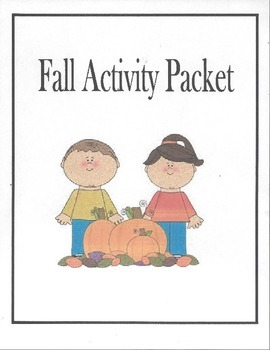 Fall Activity Packet