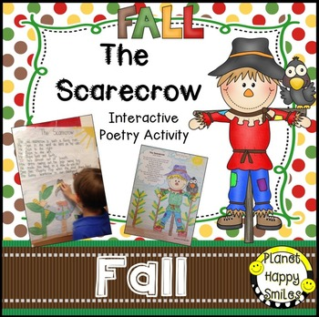 Fall Activity ~ Scarecrow Interactive Poetry