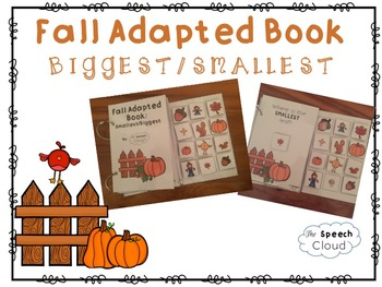 Fall Adapted Book: Smallest/Biggest