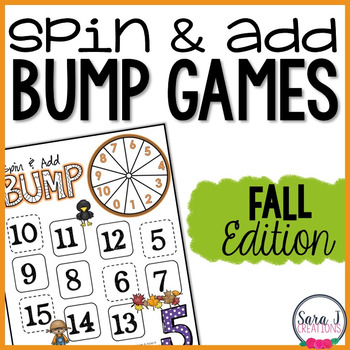 Fall Addition Games (FREEBIE)