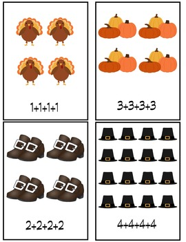 Fall Addition Arrays and Multiplication
