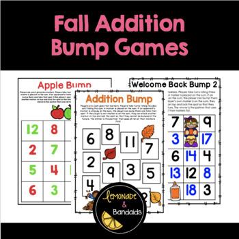 Fall Addition Bump Game