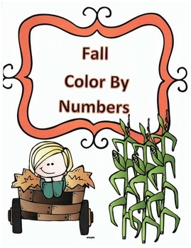 Fall Addition Color By Numbers